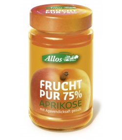 Confiture d'abricots BIO - 250g - Allos