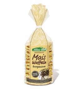 BIO-Mais-Amaranth-Waffeln mit herzhaffen Brotgewürzen - 100g - Allos
