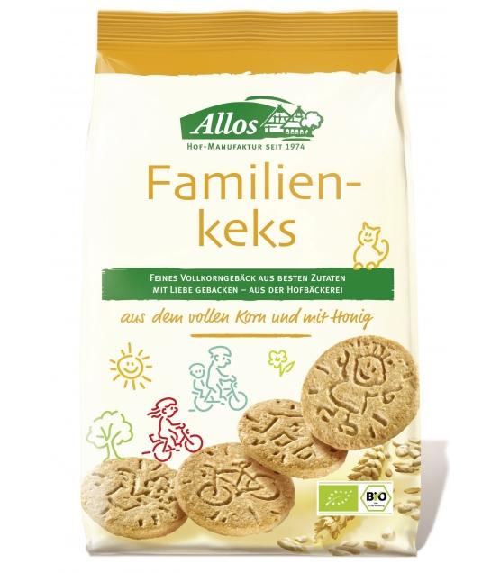 Biscuits famille au blé entier BIO - 200g - Allos