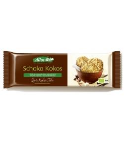Biscuits noix de coco au chocolat noir BIO - 110g - Allos