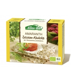 BIO-Amaranth-Sesam-Vollkorn-Knäckebrot - 250g - Allos