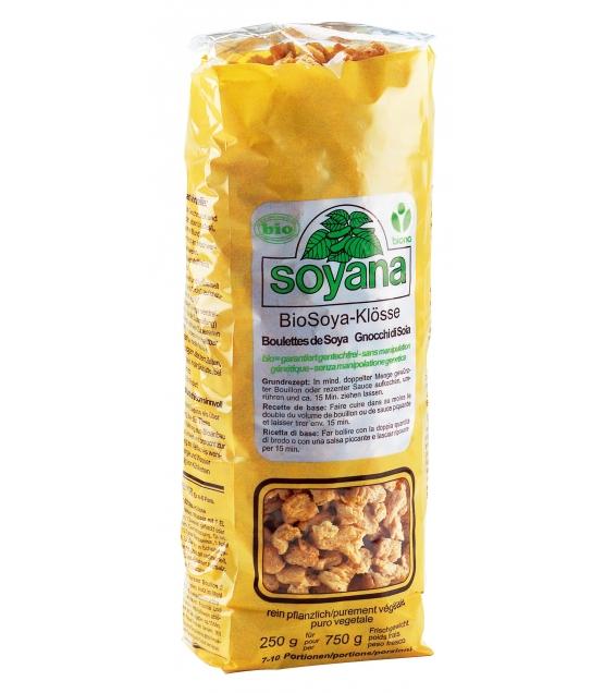 Prot ine de soja en boulettes bio 200g soyana for Proteine de soja
