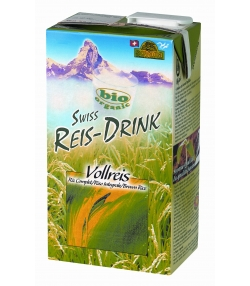 Swiss BIO-Rice-Drink Vollreis - 1l - Soyana