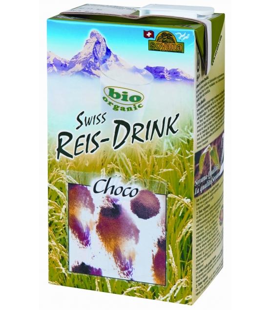 Boisson au riz choco BIO Swiss rice-drink - 1l - Soyana