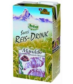 Boisson au riz amandes BIO Swiss rice-drink - 1l - Soyana