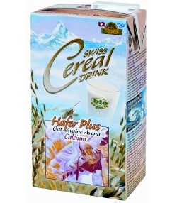 Swiss Cereal BIO-Hafer-Drink Plus Calcium - 1l - Soyana