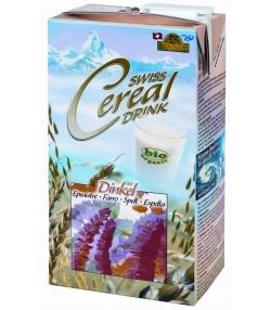 Boisson à l'épeautre BIO Swiss cereal-drink - 1l - Soyana