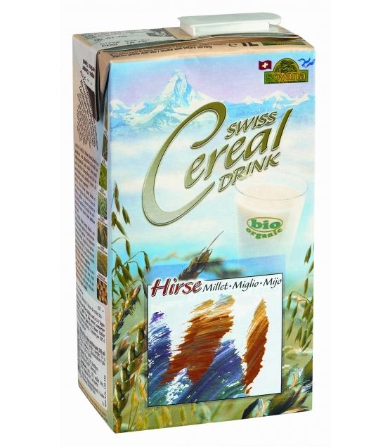 Boisson au millet BIO Swiss cereal-drink - 1l - Soyana