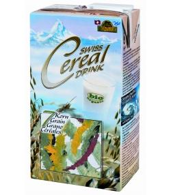 Boisson aux 7 céréales BIO Swiss cereal-drink - 1l - Soyana