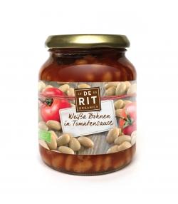 Haricots blancs à la sauce tomate BIO - 360g - De Rit