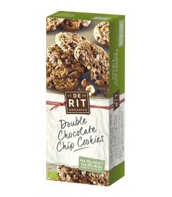 Biscuits aux pépites de chocolat & noisettes BIO - 175g - De Rit
