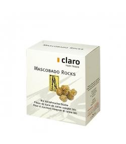 Morceaux de sucre de canne complet BIO Mascobado Rocks - 250g - Claro