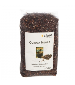 Schwarze BIO-Quinoa - 500g - Claro