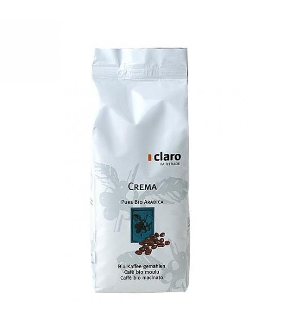 Café BIO moulu Crema - 250g - Claro