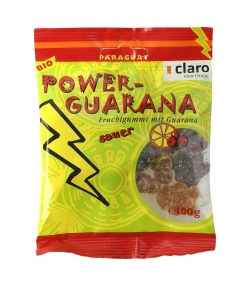 Oursons en gomme avec guarana BIO Power-Guarana - 100g - Claro