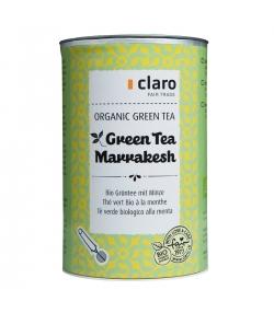 Thé vert BIO à la menthe Green Tea Marrakesh - 80g - Claro