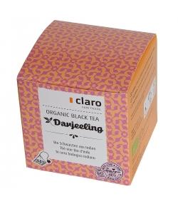 BIO-Schwarztee aus Indien Darjeeling - 14 Beutel - Claro