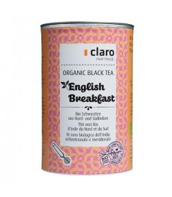 Thé noir BIO d'Inde du Nord & Sud English Breakfast - 100g - Claro
