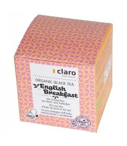 BIO-Schwarztee aus Nord- & Südindien English Breakfast - 14 Beutel - Claro
