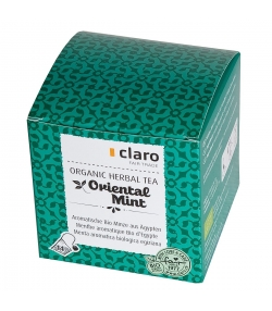 Menthe aromatique BIO d'Egypte Oriental Mint - 14 sachets - Claro
