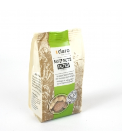 Mélange de noix grillées au sel marin & romarin Mix of Nuts - 130g - Claro