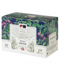 BIO-Tee Pfefferminze – 20 Beuteli – Grand-St-Bernard