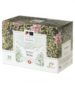 BIO-Tee Thymian – 20 Beuteli – Grand-St-Bernard
