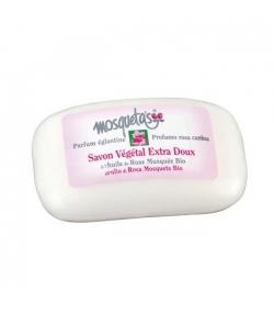 Pflanzliche BIO-Seife extra sanft Wildrose - 125g - Mosqueta's
