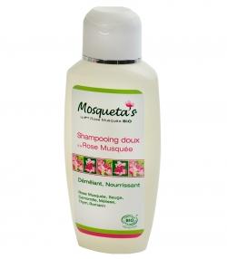 BIO-Shampoo nährend & leichte Kämmbarkeit Wildrose, Salbei & Kamille - 200ml - Mosqueta's