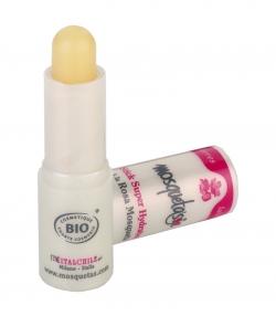 Baume à lèvres super hydratant BIO rose musquée, karité & calendula - 4,5g - Mosqueta's