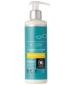 Feuchtspendende BIO-Reinigungslotion ohne Duft - 245ml - Urtekram