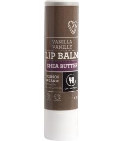 Baume à lèvres BIO beurre de karité & vanille - 4g - Urtekram