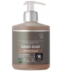 Savon liquide pour les mains calmant BIO sucre brun - 380ml - Urtekram