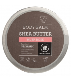 Beurre de karité BIO rose musquée - 140ml - Urtekram