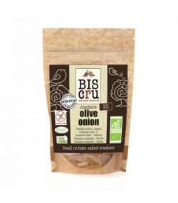 Petits crackers sans cuisson olive & oignon BIO – 70g – Biscru