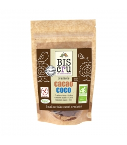 Petits crackers sans cuisson choco & coco BIO – 70g – Biscru