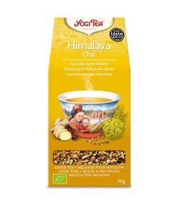 Infusion de fenouil, gingembre & cannelle BIO – Himalaya Chai – 90g – Yogi Tea