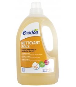 Ökologischer BIO-Bodenreiniger Zitrone & Mango - 1,5l - Ecodoo