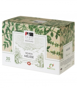 BIO-Kräutertee Melisse – 20 Beutel – Grand-St-Bernard