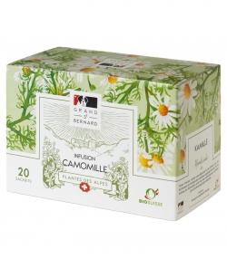 Tisane BIO Camomille – 20 sachets – Grand-St-Bernard
