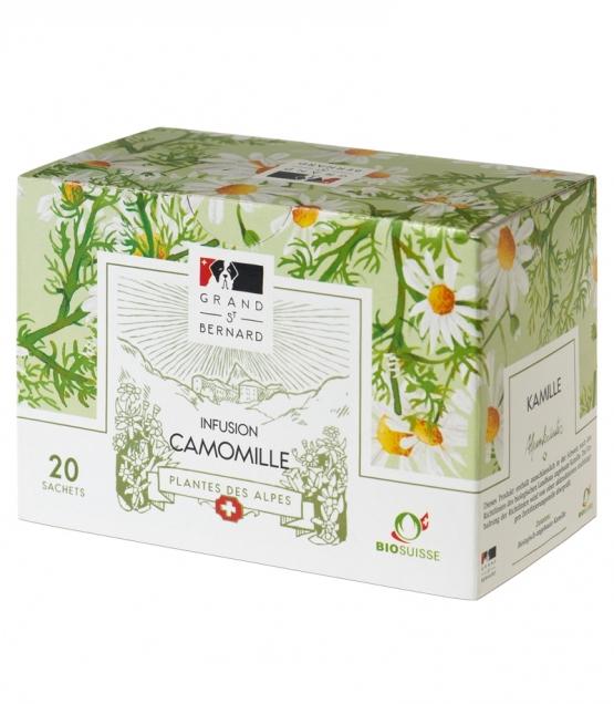 BIO-Tee Kamille – 20 Beuteli – Grand-St-Bernard