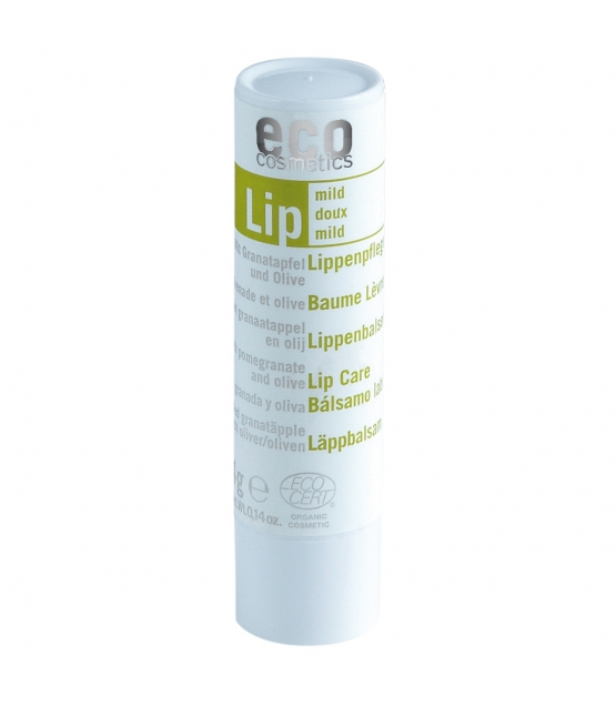BIO-Lippenpflegestift mild Granatapfel & Olive - 4g - Eco Cosmetics