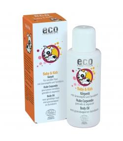 Baby & Kinder BIO-Körperöl Granatapfel & Sanddorn - 100ml - Eco Cosmetics