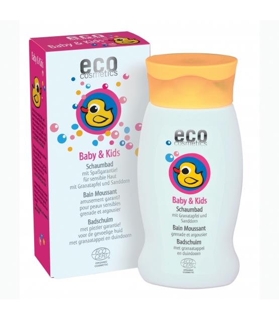 Baby & Kinder BIO-Schaumbad Granatapfel & Sanddorn - 200ml - Eco Cosmetics