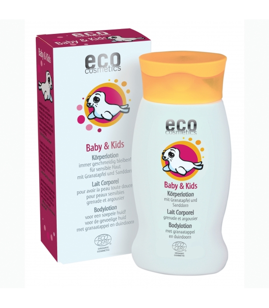 Baby & Kinder BIO-Körperlotion Granatapfel & Sanddorn - 200ml - Eco Cosmetics