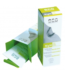 Crème de nuit BIO ginseng & grenade - 50ml - Eco Cosmetics