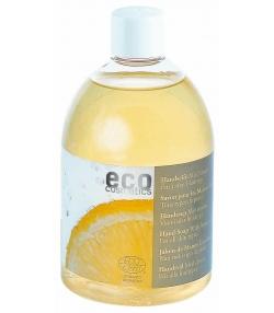 Recharge savon liquide pour les mains BIO citron - 500ml - Eco Cosmetics