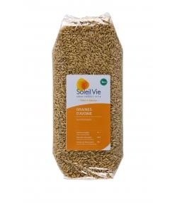 Graines d'avoine BIO - 500g - Soleil Vie
