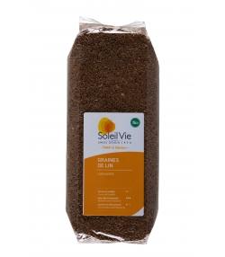 Graines de lin complet BIO - 500g - Soleil Vie