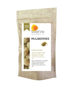 BIO-Mulberries getrocknet - 80g - Soleil Vie